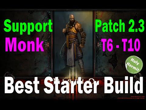 D Season  Monk Speed Build