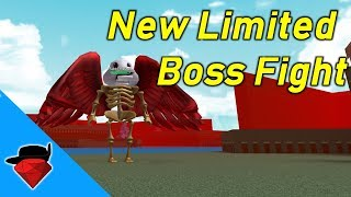 New Limited Time Boss Fight (Fabbi the Duck) | Build A Boat For Treasure [ROBLOX]