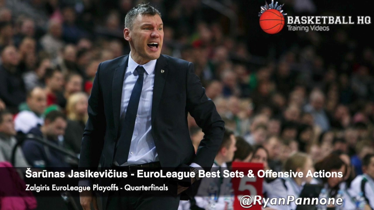 Šarūnas Jasikevičius Best Sets & Plays Zalgiris 2019 Euroleague Quarterfinals