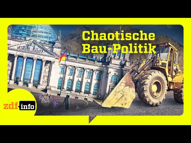 Bauzeit ungewiss. Deutschlands gescheiterte Großprojekte I ZDFinfo Doku