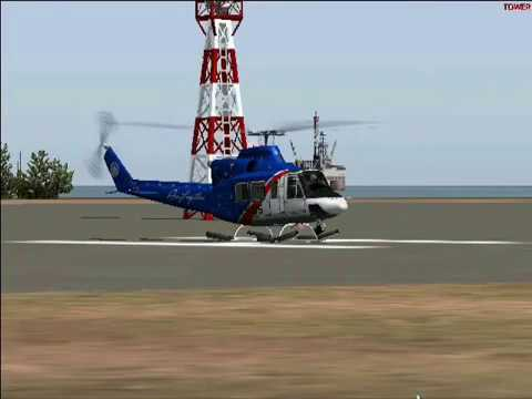 Flying the Bell 412