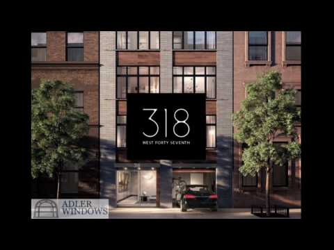 Adler Windows: 318 West 47th Street