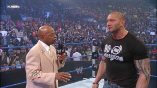General Manager Theodore Long addresses the WWE Universe