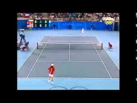 Massu vs Fish Atenas 2004 Gold Medal Match Highlights