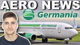 FOLGEN der GERMANIA-Insolvenz! AeroNews