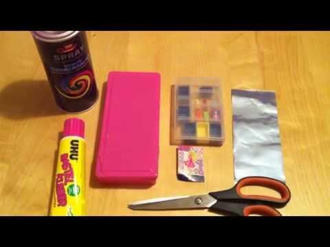 Schrank aus schraubenbox f r puppenhaus basteln youtube - Puppenhaus basteln ...