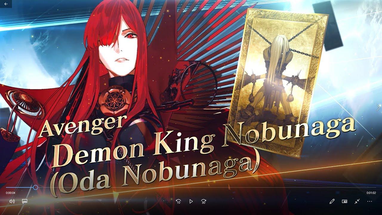 Fate/Grand Order - Demon King Nobunaga (Oda Nobunaga) Servant Introduction