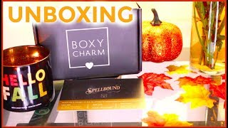 Boxycharm from July to October 2017 Unboxing | Kendya Jazmin