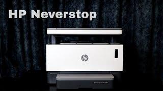Обзор HP Neverstop Laser. Принтер без картриджа?