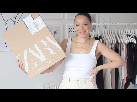 ZARA BASICS HAUL   MUST HAVE PIECES FOR YOUR WARDROBE   VILMA MARTINS