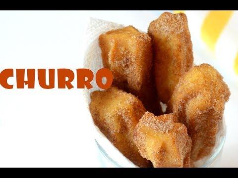 Homemade Churros | How To Make Churro | Quick Snack Recipe
