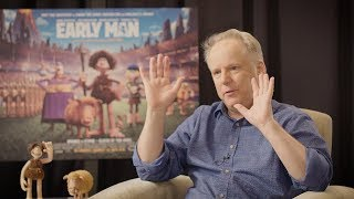 Nick Park Tells Us Why He Prefers The Old Fashioned Way To Animate | Early Man