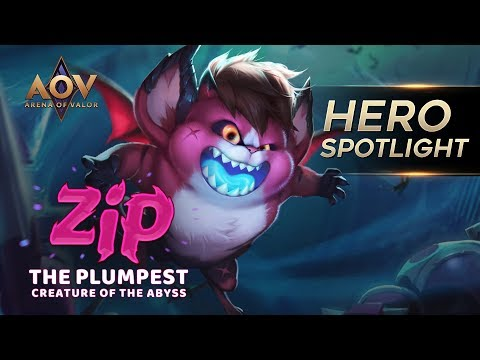 The Plumpest Creature Of The Abyss - Zip Hero Spotlight - Garena AOV