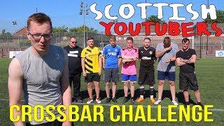 SCOTTISH Youtubers Play Football || Worst ever Crossbar challenge