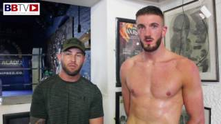 CHARLIE SCHOFIELD/ ROB RIMMER ON FIGHTING CURTIS GARGANO
