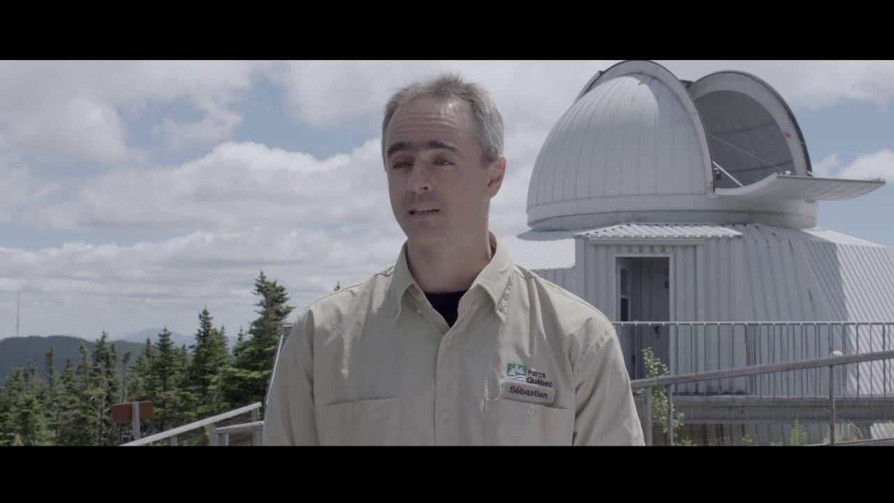 Réserve de ciel étoilé (RICEMM) Astrolab du parc national