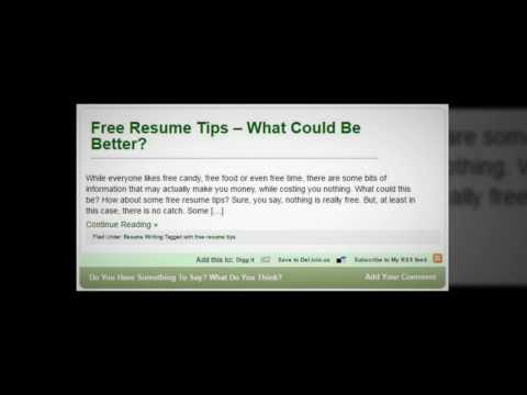 Resume Writing by Verse Finance