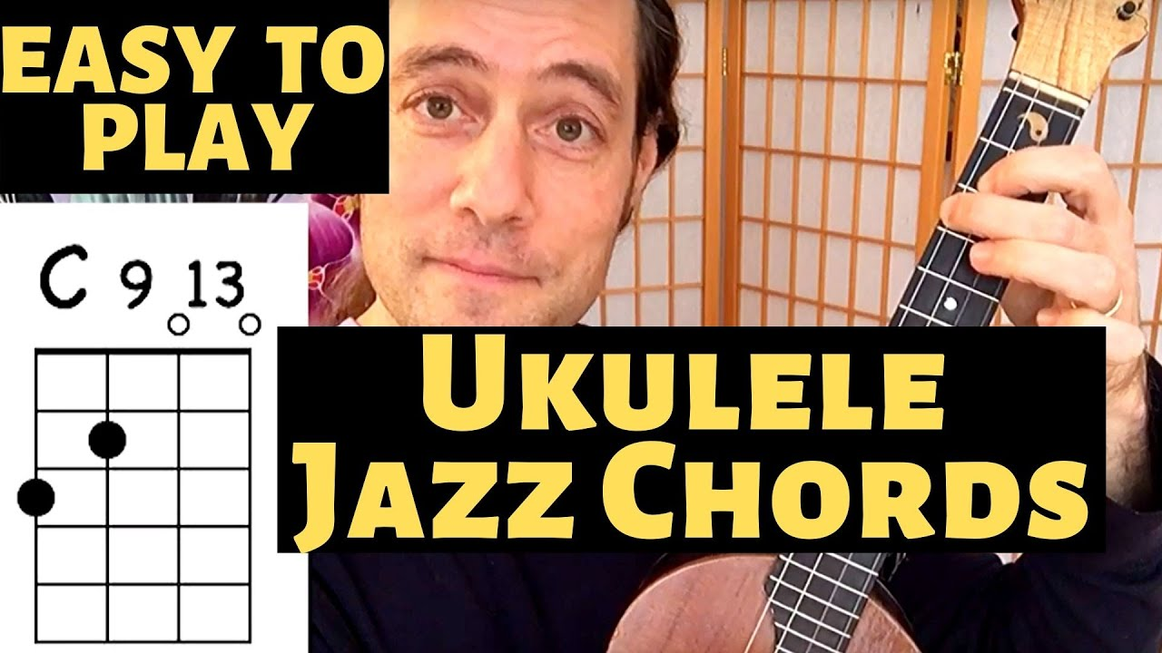 How to play beautiful Ukulele Jazz Chords with just TWO FINGERS