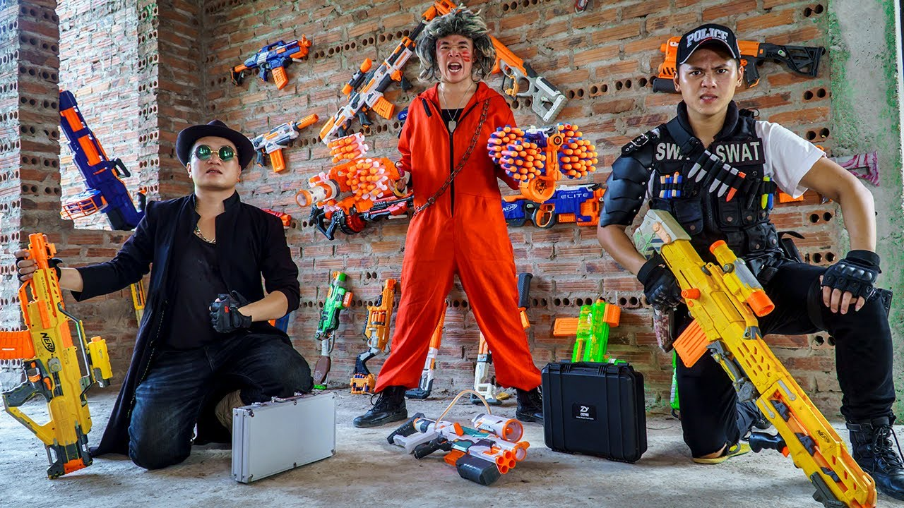 LTT Nerf War : SEAL X Warriors Nerf Guns Fight Dr.Lee Crazy Trap Enemy To Steal Weapons