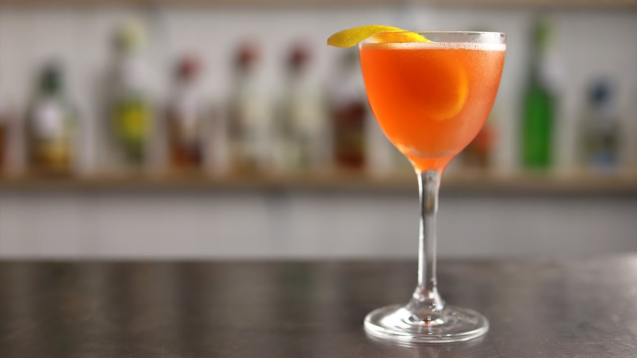 GIN SOUTH SLOPE - is it just an Unusual Negroni Sour?