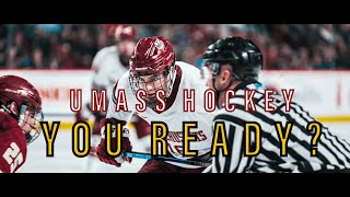 UMass Hockey - YOU READY? | Sony A7iii + 70-200 f/2.8 GM