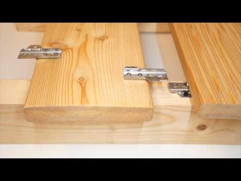 herbholz dila unsichtbare befestigung f r terrassendielen youtube. Black Bedroom Furniture Sets. Home Design Ideas