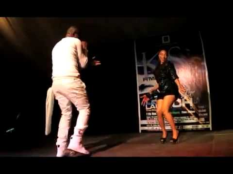 Tonto Dikeh Performs Live With Kas