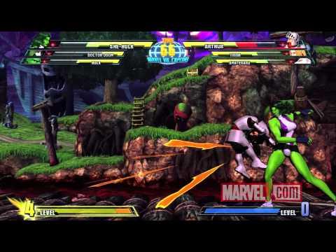 Marvel vs. Capcom 3: She-Hulk Spotlight