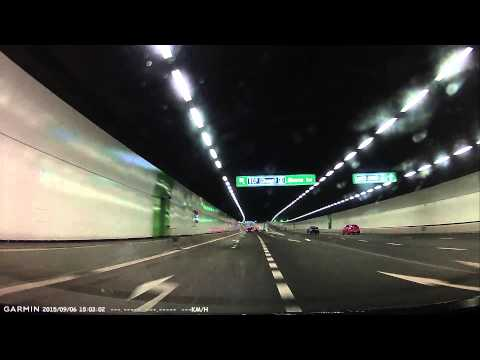 Driving in Singapore with Garmin: KPE to ECP