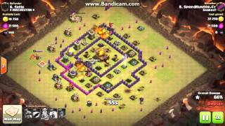 Clash of Clans Luckiest attack