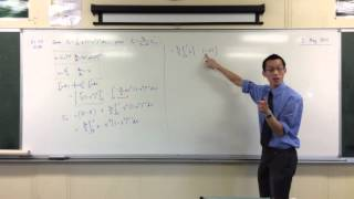 Tricky Recurrence Relation with Unexpected Algebraic Manipulation