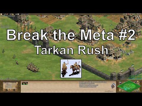 """Aoe2 """"Break the Meta"""" #2: Tarkan & Petard Rush"""
