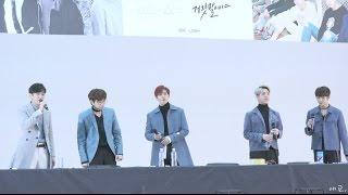 161202 B1A4 명동 뮤직아트 팬싸인회 : 끝인사