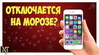 iPhone отключается на морозе!?