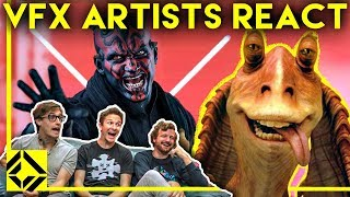 �������� ���� VFX Artists React to THE PREQUELS Bad & Great CGi ������
