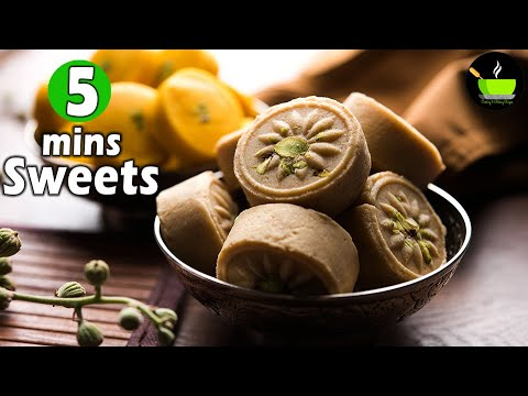 5 Minute Sweets Recipes | Quick & Easy Sweet Recipes | Instant Sweet Recipes | Indian Sweets