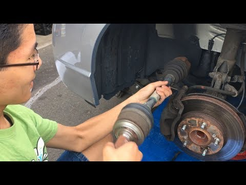 CV Axle Shaft Honda Civic 2006-2011: How To Replace Driver Side & Symptoms/Signs Of Bad Ones