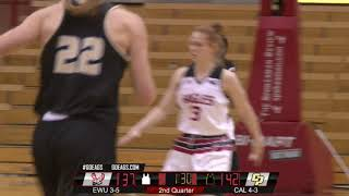 EWU WBB vs Cal Poly Highlights (Dec. 11)