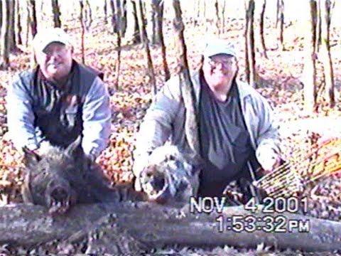 2001 Nov 4 - John Steve Wild Boar Hunt Door MI