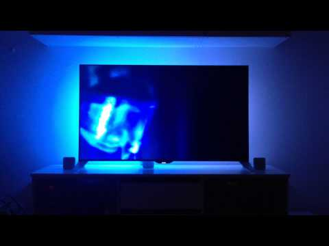 philips 55 smart led tv 55pfs8109 ambilight example afterglow short version youtube. Black Bedroom Furniture Sets. Home Design Ideas