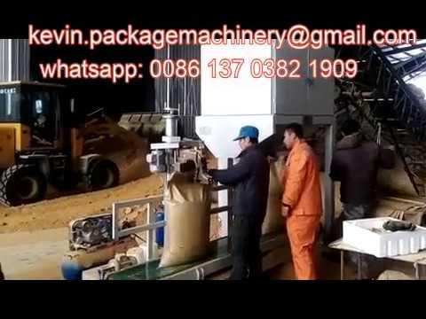 salt bag filling machine 50kg, 25kg industrial salt bagging machine