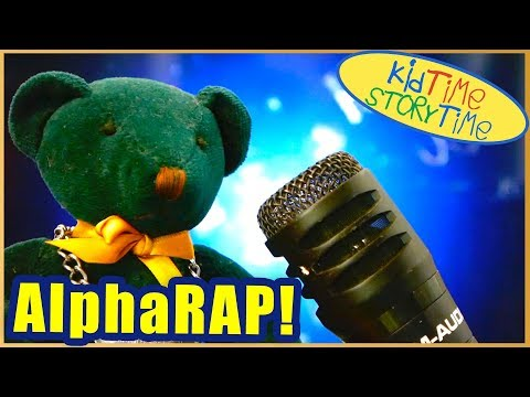ABC Song: AlphaRAP!  (ORIGINAL Mini Movie/Music Video for Kids!)