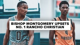 Bishop Montgomery Upsets No. 1 Rancho Christian - Full Game Highlights
