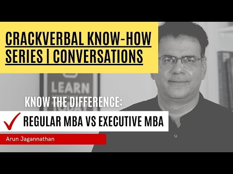 Regular MBA Vs Executive MBA | Which One To Choose | Know-How Series
