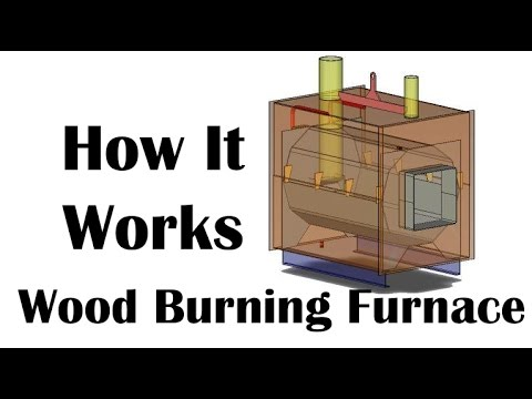 How A Wood Burning Furnace Work? - YouTube