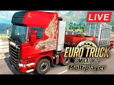 СТРИМ! КАТАЕМСЯ ПО ЕВРОПЕ В Euro Truck Simulator 2 (Общаемся)