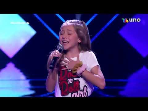 Team Maria Jose (Renata Tello) La voz Kids Martes 20 De Abril 2021 Capitulo 10 Semifinal