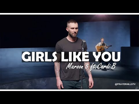 Maroon 5 - Girls Like You ft  Cardi B (Clean)