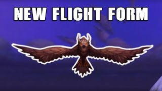 WoW:Legion - New Druid Flight Form Sentinel Owl *UPDATED*