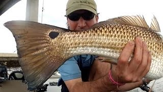 2 Keeper Redfish Fishing in Florida